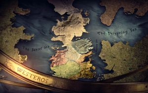 Game of Thrones - Map by antony-hitzig
