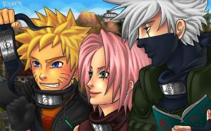 Team 7 : get sasuke back REDO by Rikuu44