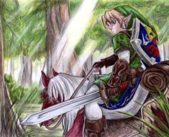 link rides again by supercrazzy