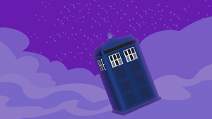 Doctor Whooves Tardis Traveling by YoshiGreenwater