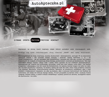 Website lay Autoapteczka by eeb-pl