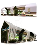 Stand Alam Sutera by vaD-Endz