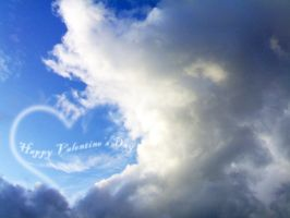 Valentine's sky by T4Del