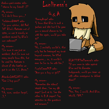 Lonliness's Q and A Page 8 by lonlinessplz