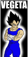 Vegeta Bookmark by Dbzbabe