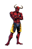 MMA Devil character design by spidey0318