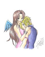 Cloud And Aerith:Forgiven by DarkAngel0267