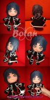 chibi Zane plush version by Momoiro-Botan