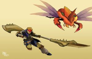 MH4 new weapon by AMBONE105