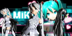 P-Style Miku Dt (Grey) by GrayFullbuster21
