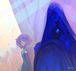 Blue Diamond by gawki