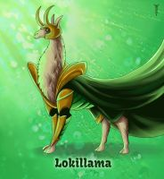 Daily Llama Project - Lokillama by TrollGirl