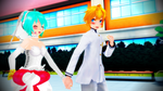 MikuxLen a White love by Espirea