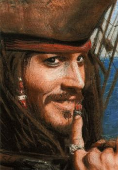johnny depp by slave-roc
