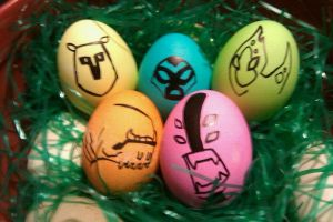pssh Easter eggs by tophphan