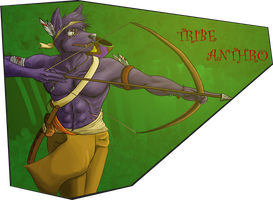 Tribe Anthro by StromgradeDragon