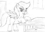 At the table. by jazzy-rose-hxc