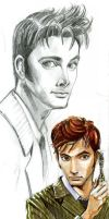 tenth doctor by DameEleusys