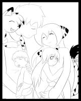 .:UPDATED:. Happy family by elisonic12