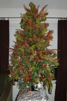 Christmas Tree in Copper and Gold - 2011 by EveyD