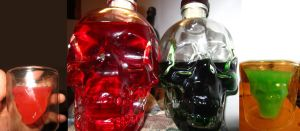 Absinthe Red and Green by joseph-sweet