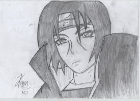 Itachi Uchiha by DartiRevi