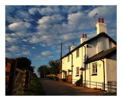 The Lock Keeper's Cottage by Bogbrush