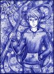 Jack Frost art, ballpoint pen by Shinnynyanya
