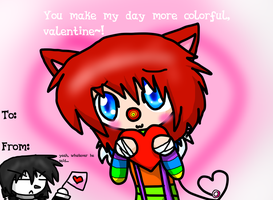 Valentine's Day Card by CaffeineCoated