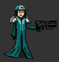 Pixel Robert by kartron
