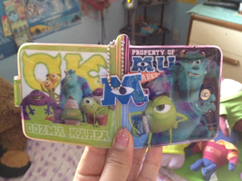 My Monsters University wallet finally came! by Cartuneslover16