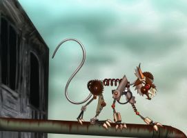 Rodent of Rust - 9 Contest by Voodoo-Wolf