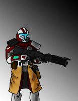 Red Arc Trooper by Anvilous