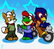 STAR FOX KIDS by WhiteFox89