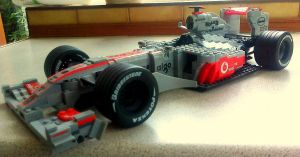 Lego McLaren Mercedes MP4 24 by Galbatore