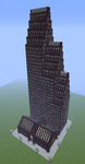 Bank of America Center Houston Minecraft by henryca03
