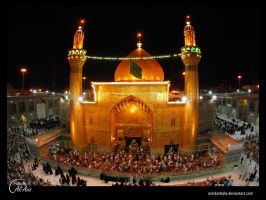 Imam Ali Holy Shrine by azizkarbala