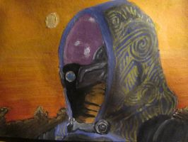 Tali on Rannoch by Mandinga91