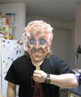 Other Terrifying Pertwee Mask by tomthefanboy