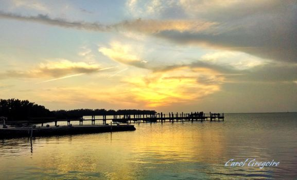 Islamorada Sunset 1 by carolgregoire