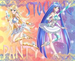 Panty and Stocking by foogie