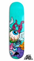 Fierce Skateboard by LuisDiazArtist