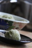 matcha melts. by sorekara