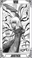 KH Tarot: Justice by Autumn-Sacura