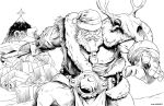 BATTLE-BEFORE-CHRISTMAS-lines_for_cgpintor by totmoartsstudio2