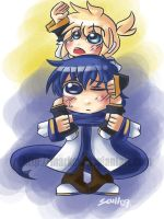 Request: Kaito and Len by MARKCW