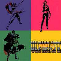 My Ultimate Marvel vs Capcom 3 Team Pop Art by Taking-Back-Shadow