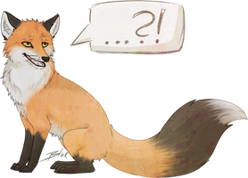 What does the fox say? by Bluefirewings