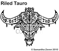 Riled Tauro Tattoo Design by The-Monstrum