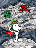 Snoopy: WWI Flying Ace by SonicClone